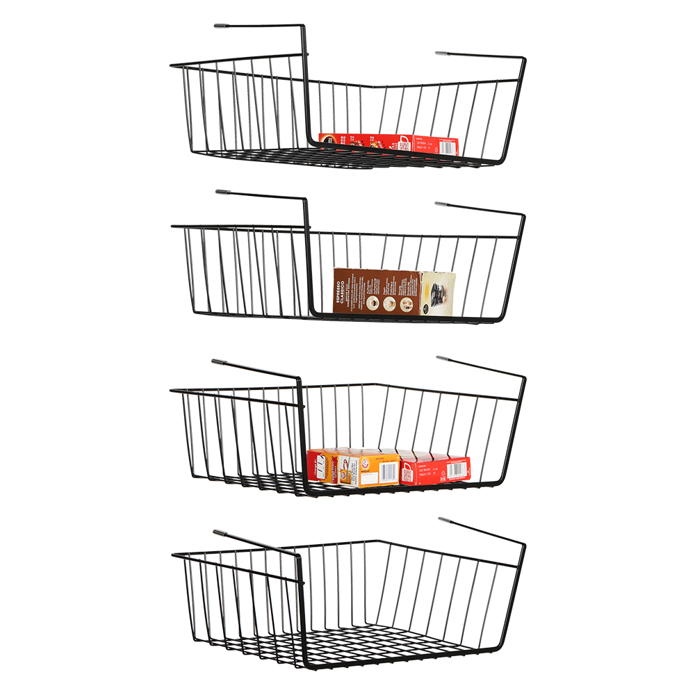 Under Cabinet Basket Storage Shelf