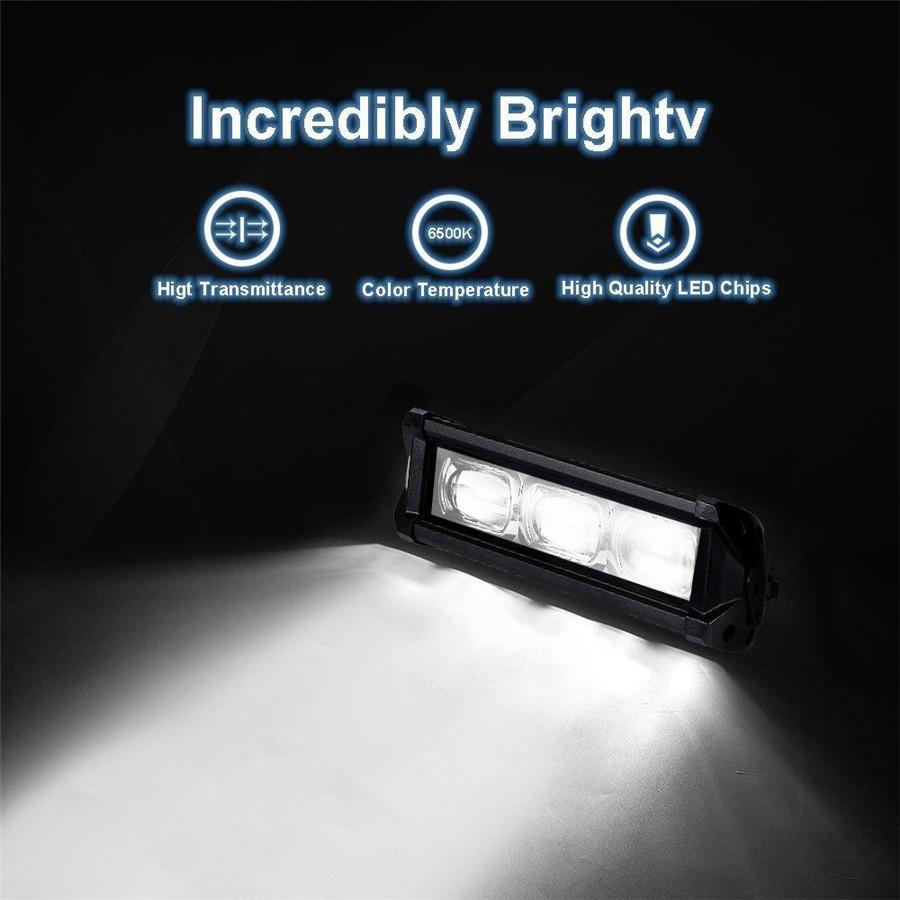 1x 30w 12v led arbeitsscheinwerfer fernscheinwerfer. Black Bedroom Furniture Sets. Home Design Ideas