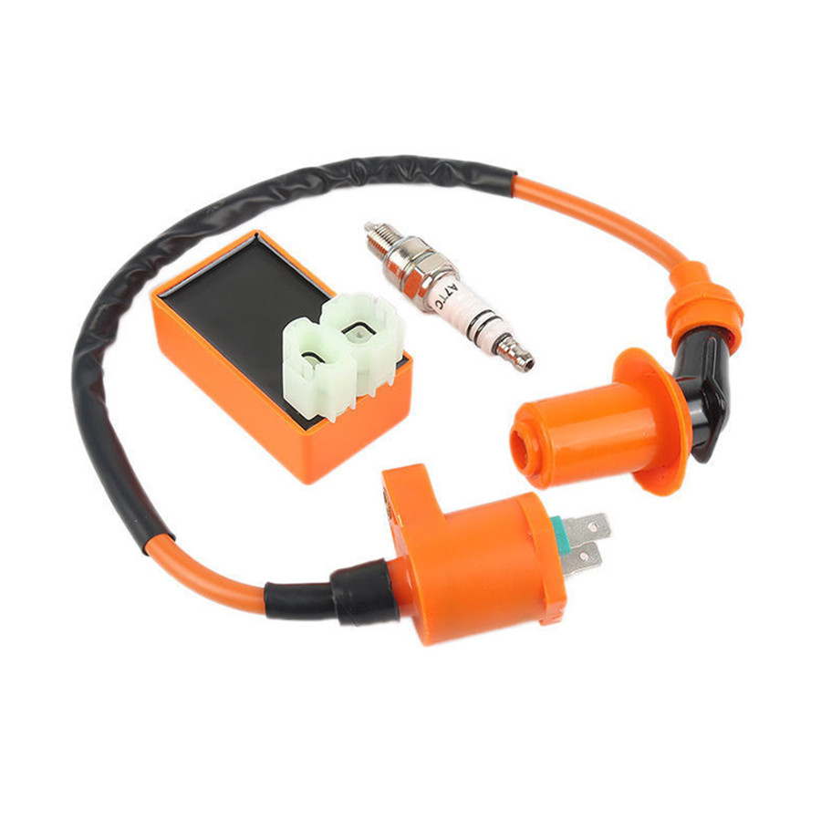 Ignition Coil Cdi Spark Plug Kit For Gy6 Motorcycle Scooter Atv 50cc Zapino Electric Wiring Diagram Product Description