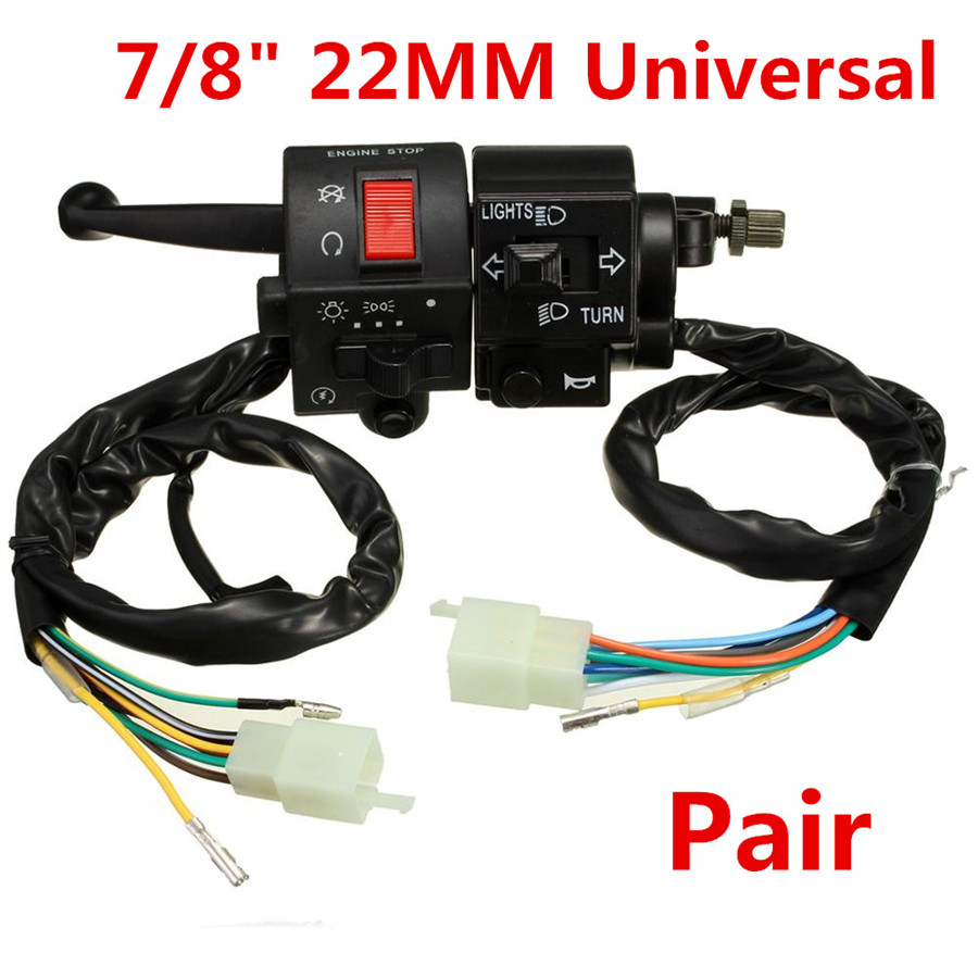 Universal Horn Turn Signal Light Switch For 7 8 Manual Guide