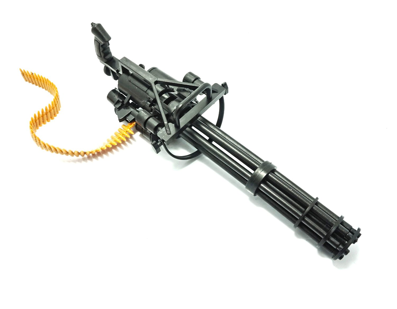 how to make a paper m134 minigun paper gatling gun