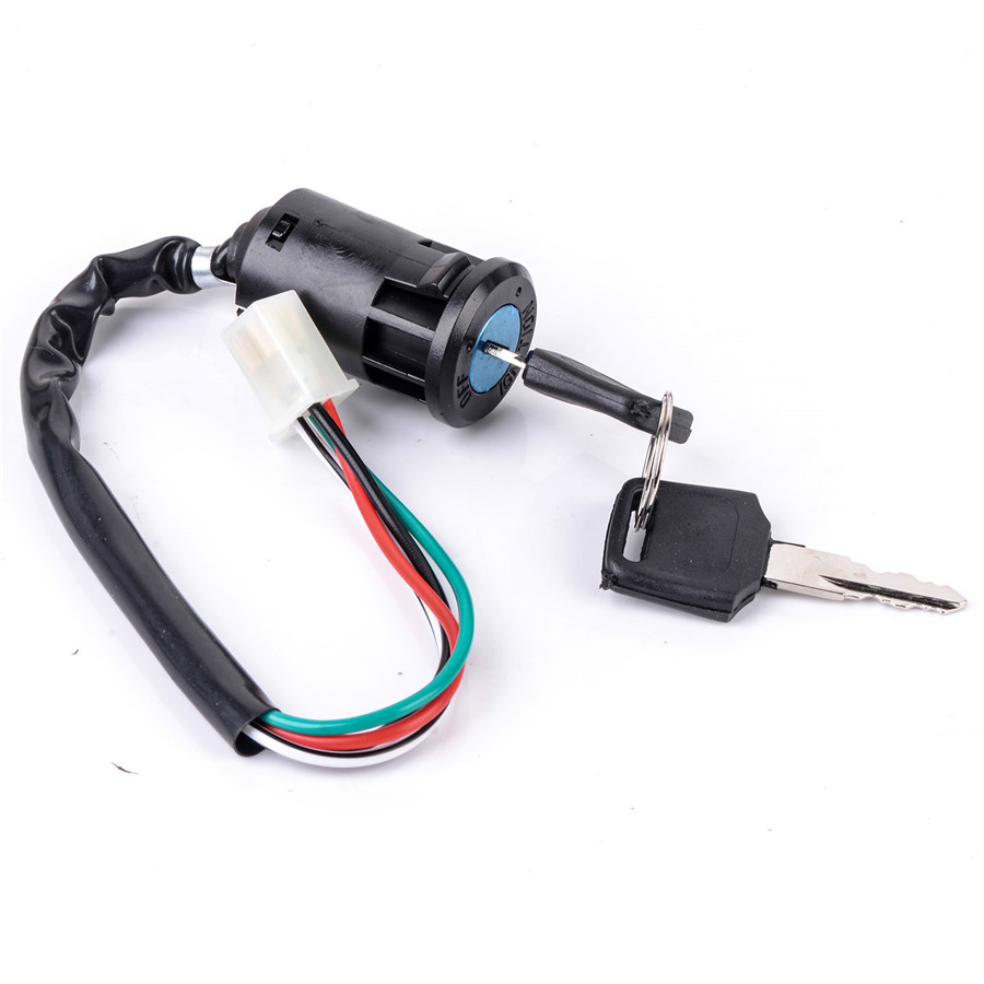 50cc 125cc Motorcycle 5 Pins Spark Plug Cdi Electric Start Quad Wire Wiring Harness Kids Atv