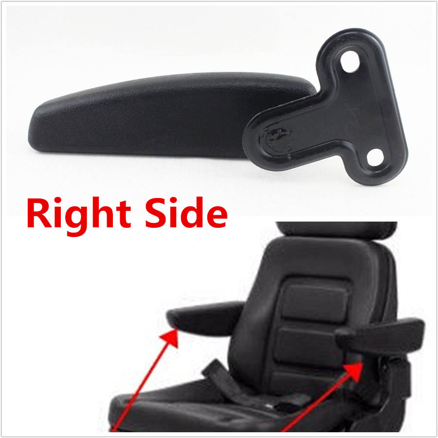 1x Comfortable PU Leather Right Car Seat Armrest Console Box Arm Rest Adjustable