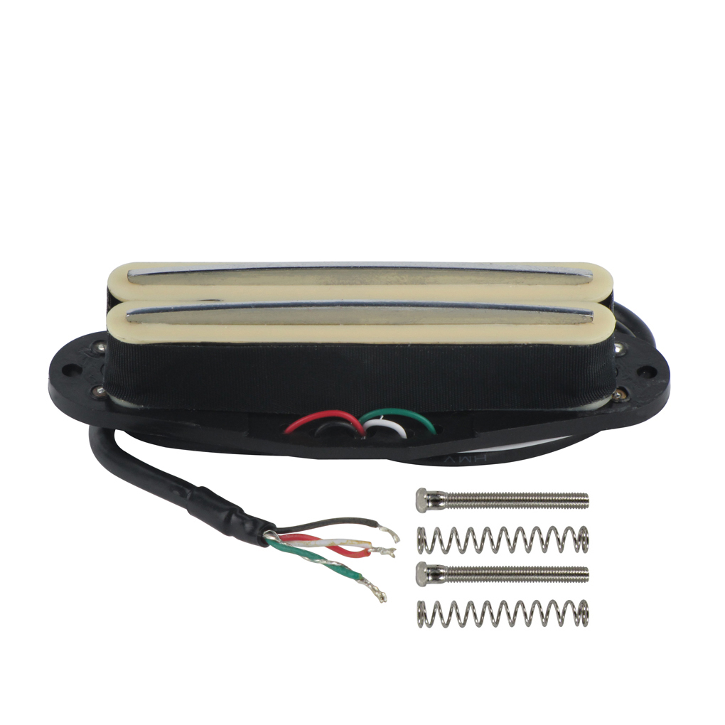 dual hot rail humbucker staggered pole alnico 5 single coil guitar pickup set 727523163233 ebay. Black Bedroom Furniture Sets. Home Design Ideas