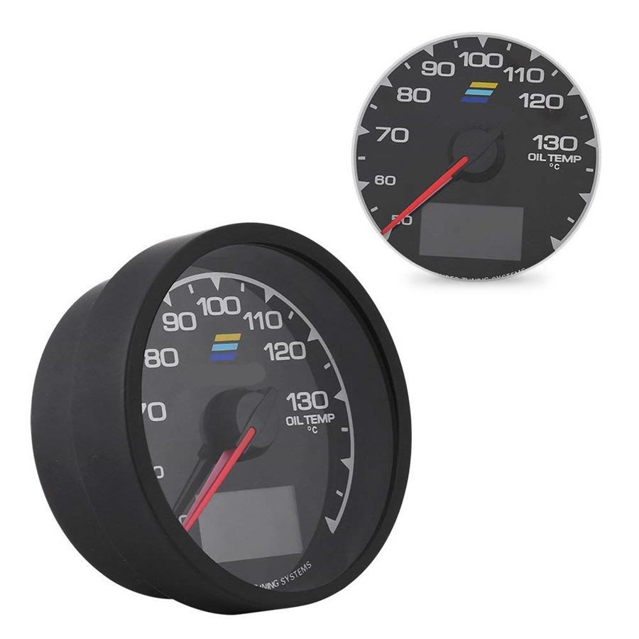 details about 62mm racing car 7 colors lcd display voltage meter oil temp  gauge universal