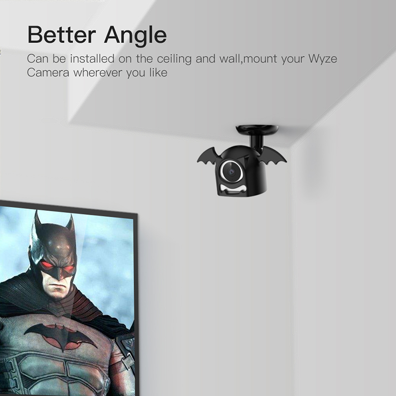 Unlike Original Magnetic Absorption Base This Mount Bracket Is Equipped With Fixing And Make Your Camera Be More Le Both On Wall Or Ceiling