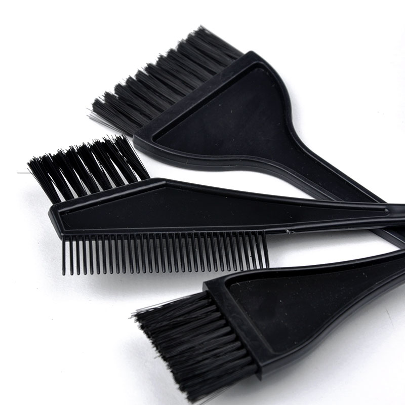 4 in1 Professional Hair Color Dye Bleach Bowl & Brush Set Salon Kit ...