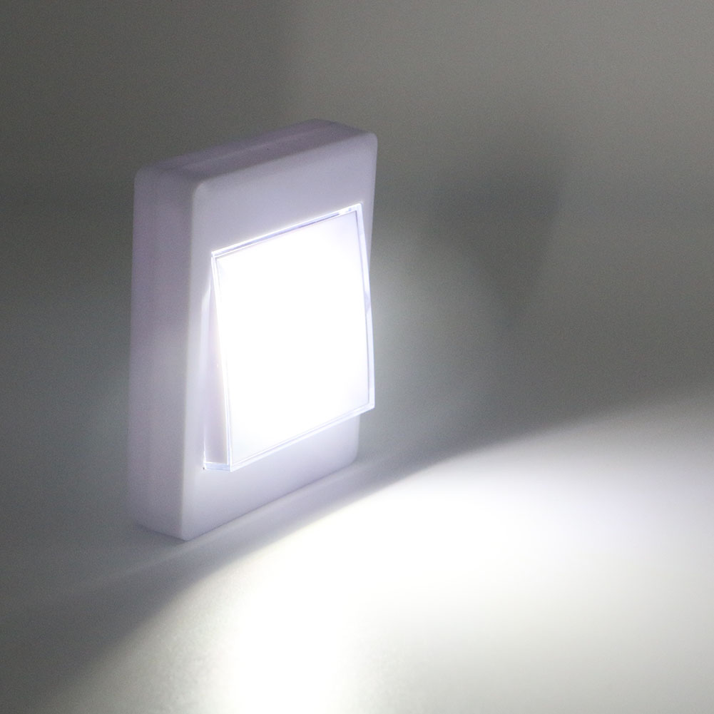 Battery Operated Lights For Wall : CORDLESS COB LED BATTERY OPERATED SWITCH LIGHT MAGNETIC WALL NIGHT LIGHT 4*AAA eBay