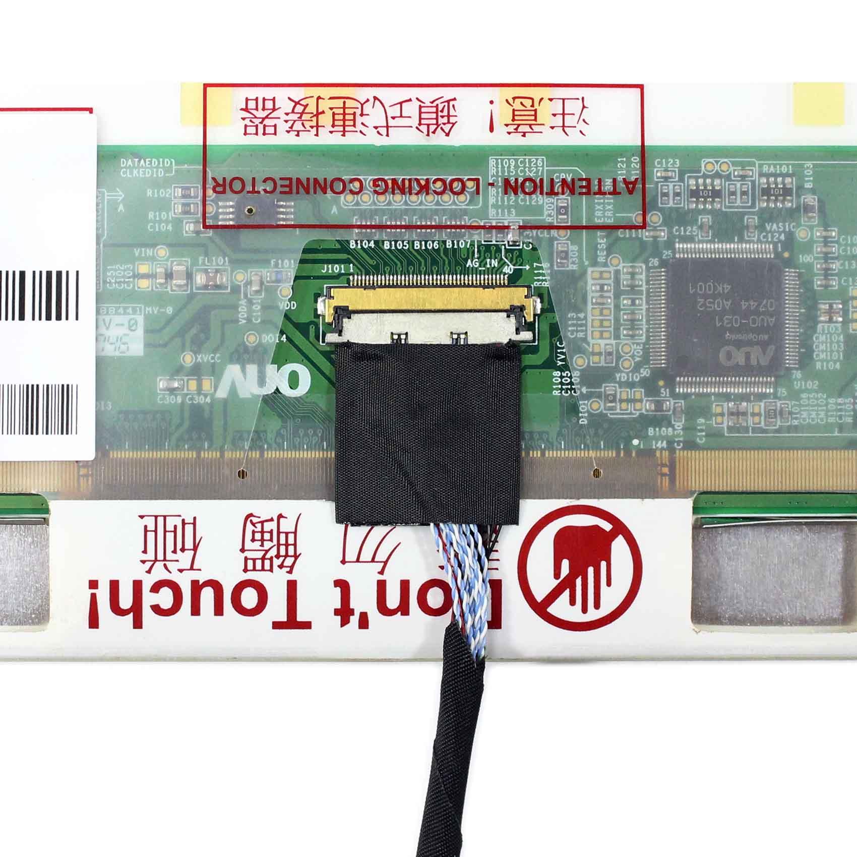 "HDMI+DVI+VGA LCD Controller Board Kit for N154C6 L01 15.4/"" 1440X900 display"