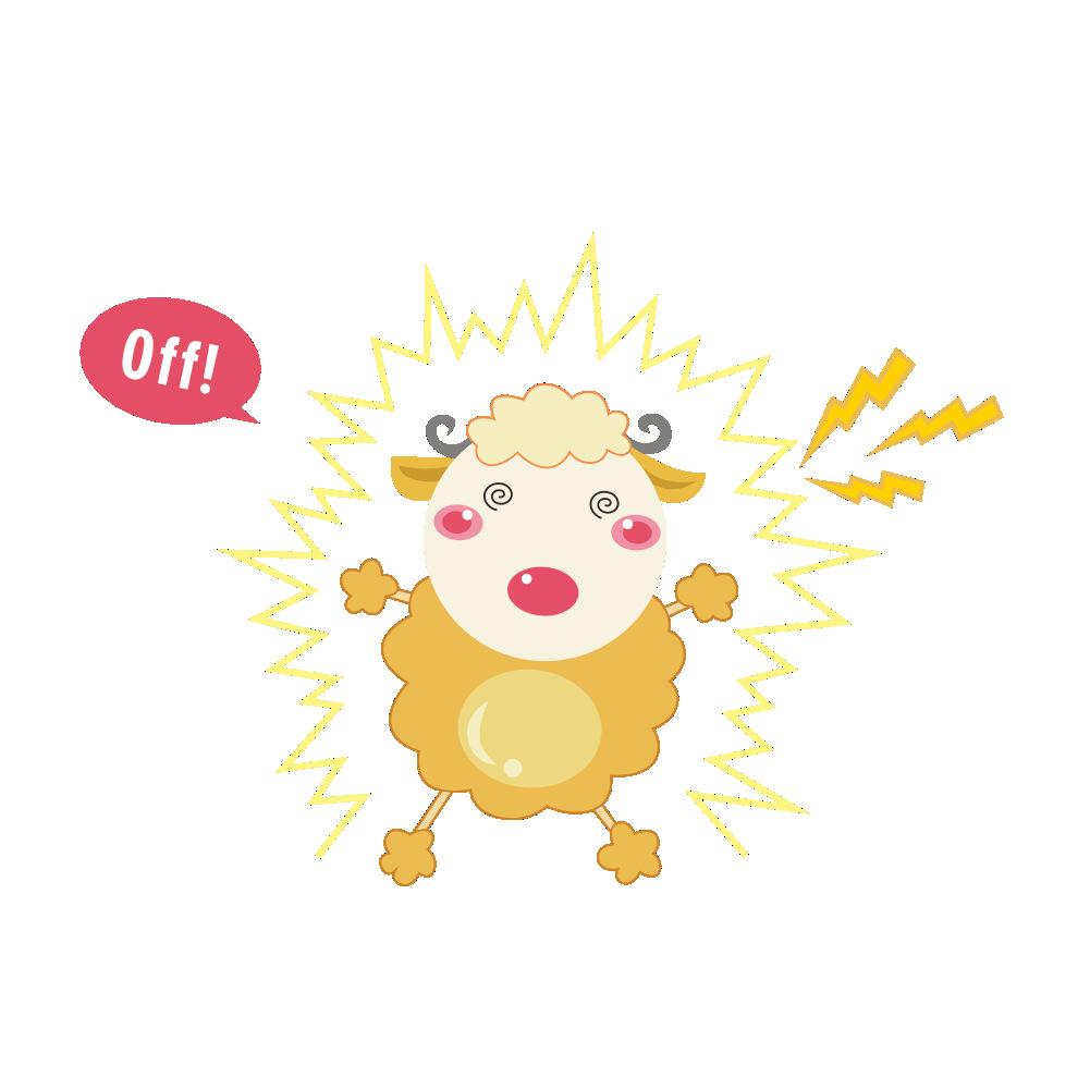 Cute Cartoon Animals Light Switch Funny Home Decor Vinyl Stickers ...