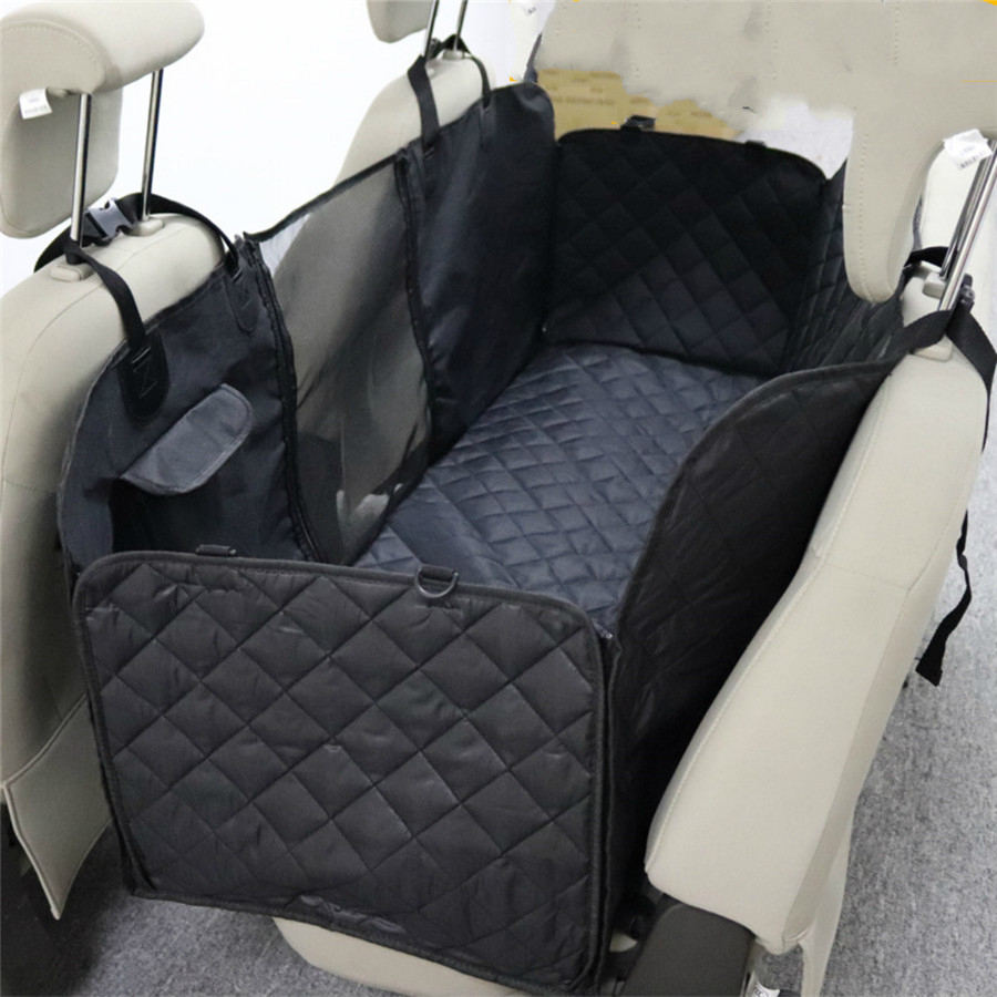 Quilted Car Rear Pet Dog Seat Cover Hammock  For Smart Forfour For Four 2015 On