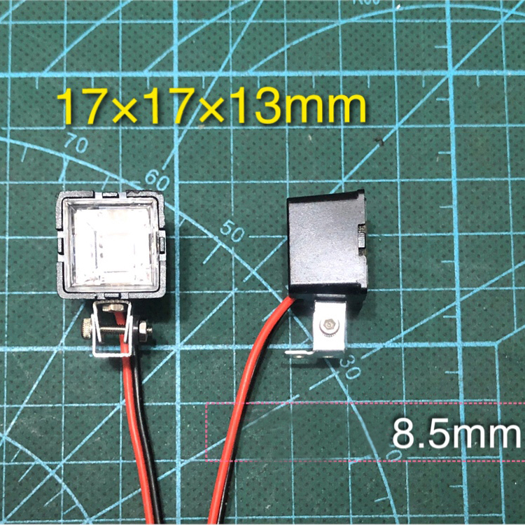 RC Car LED Light Lamp Searchlight For 1//10 TRX4 AxialSCX10D90TF2TamiyaCC01