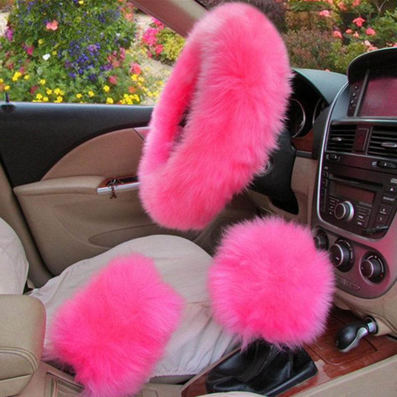 genuine australian sheepskin fur car seat cover steering wheel geargenuine australian sheepskin fur car seat cover steering wheel gear shift cover 6430973310792 ebay