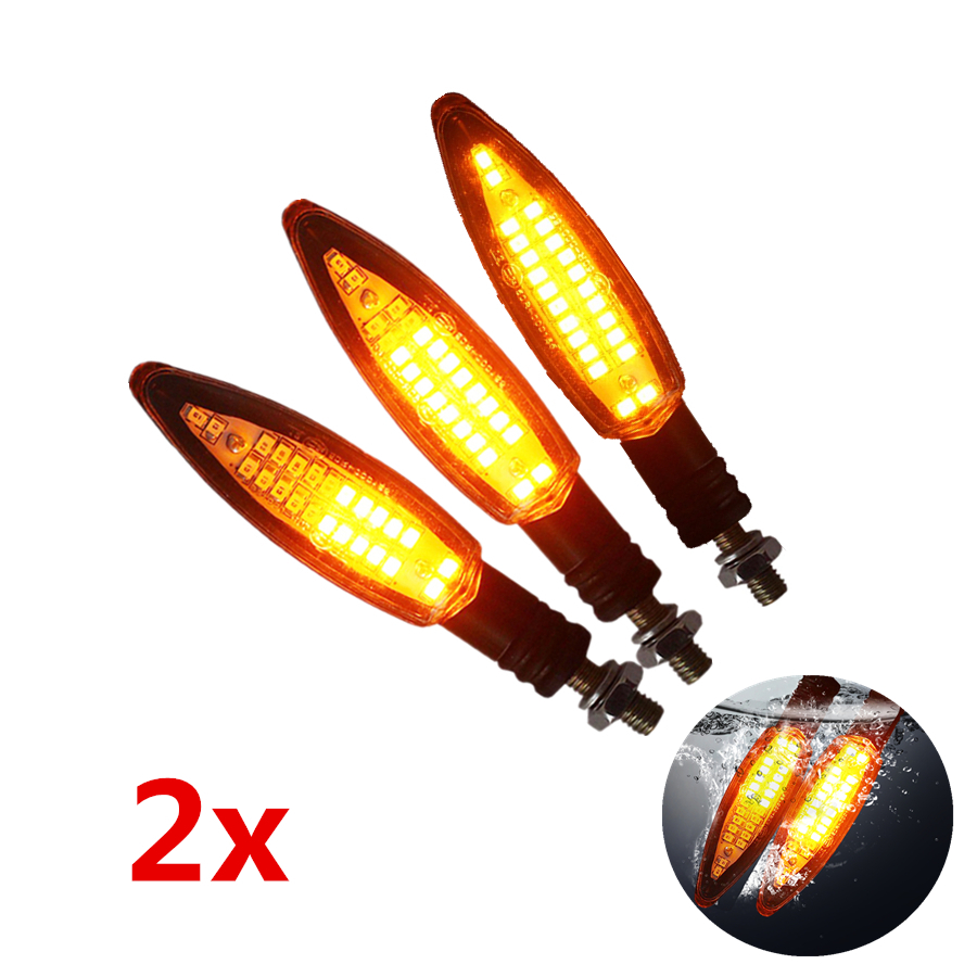 2x 12v led motorrad blinker sequentiell laufeffekt atv. Black Bedroom Furniture Sets. Home Design Ideas