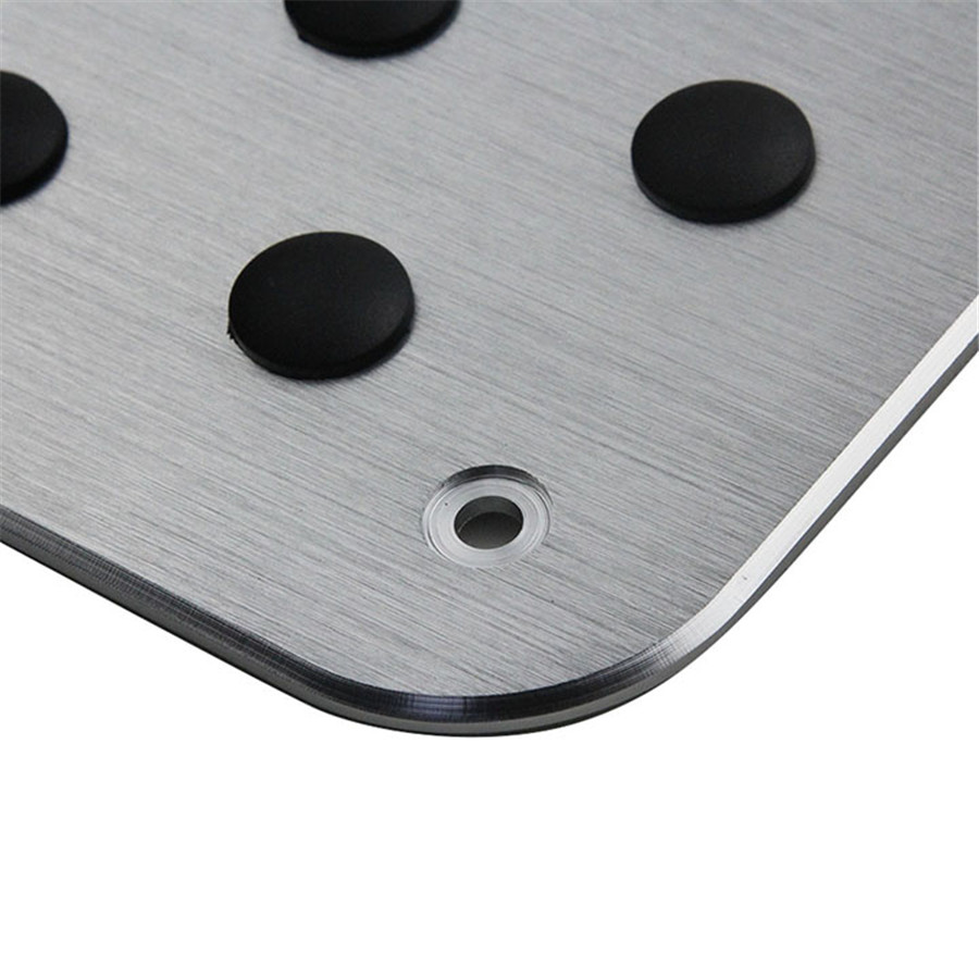 Universal Aluminum Truck Car Floor Mat Carpet Heel Plate