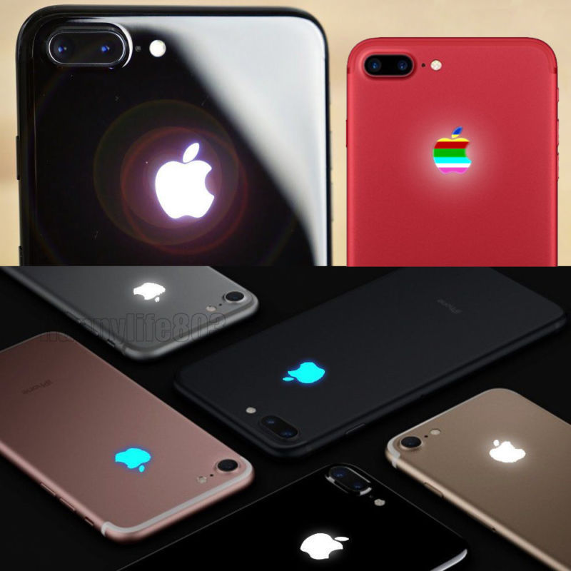 san francisco d5304 876b7 Details about Touchable Intelligent Led Light Touch Glowing Logo Rainbow  iPhone 6 6s 7 Plus