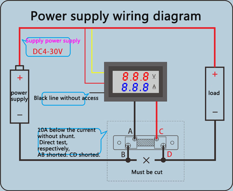 Wiring Diagram Without Shunt Amp Meter - All Diagram Schematics on