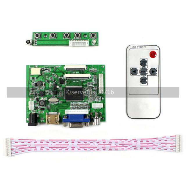 Lager LCD TTL LVDS Controller Treiberplatine HDMI VGA 2AV 50PIN AT070TN90 92 94