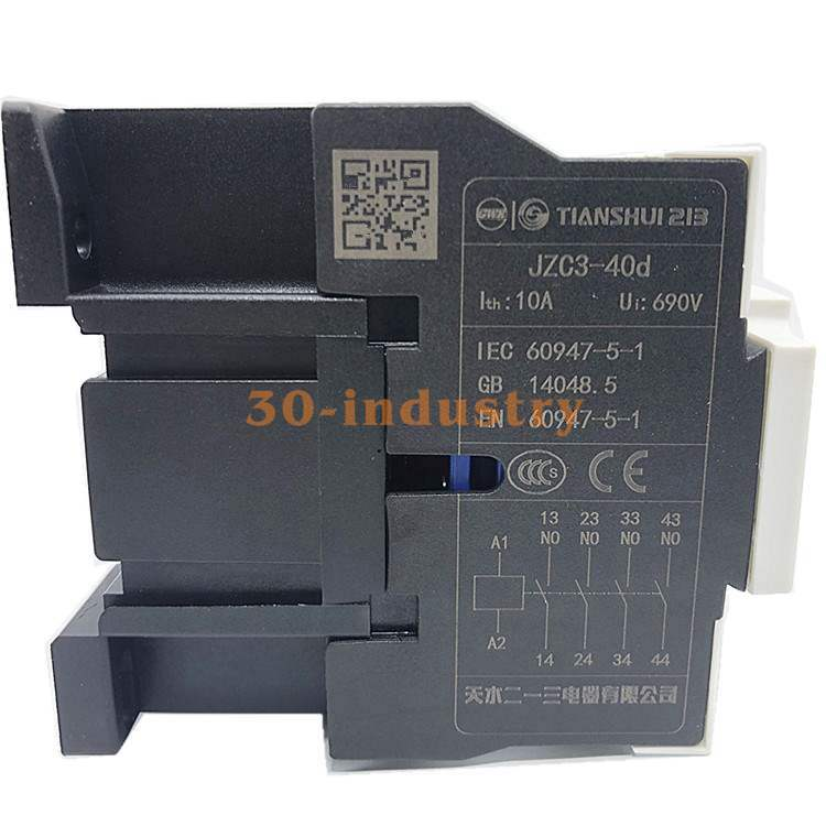 Details about  /1PCS NEW FOR TIANSHUI Contactor type relay JZC3-40d 10A AC24V