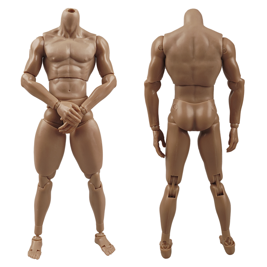 """ZYTOYS 1//6 Wide Shoulder Muscular Male Figure Body Doll 12/"""" For Hot Toys Phicen"""