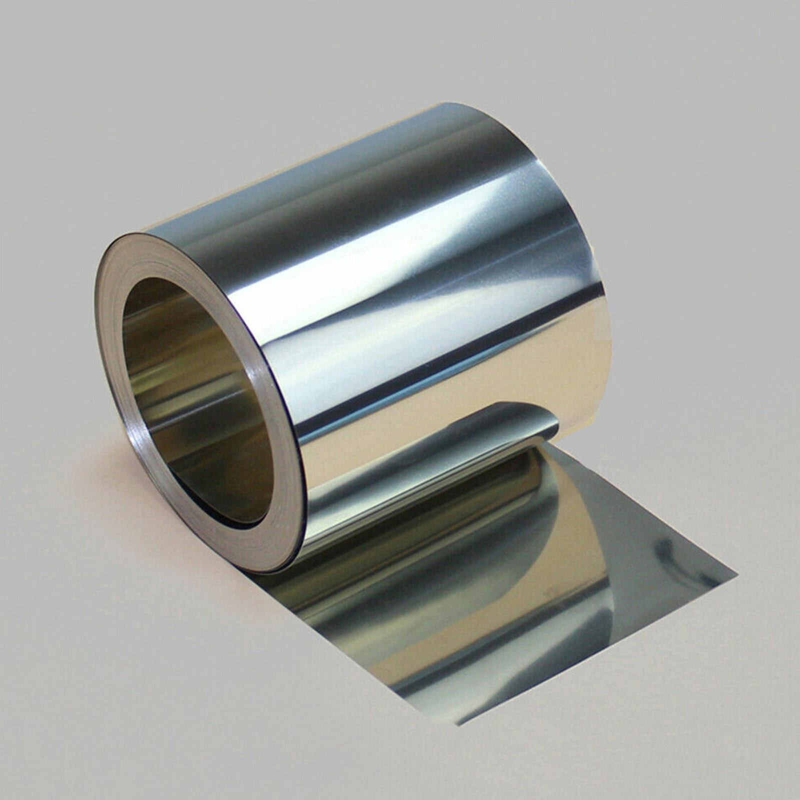 304 Stainless Steel Foil Sheet Metal Plate Thick 0.005mm-0.4mm Strip Panel 1//5M