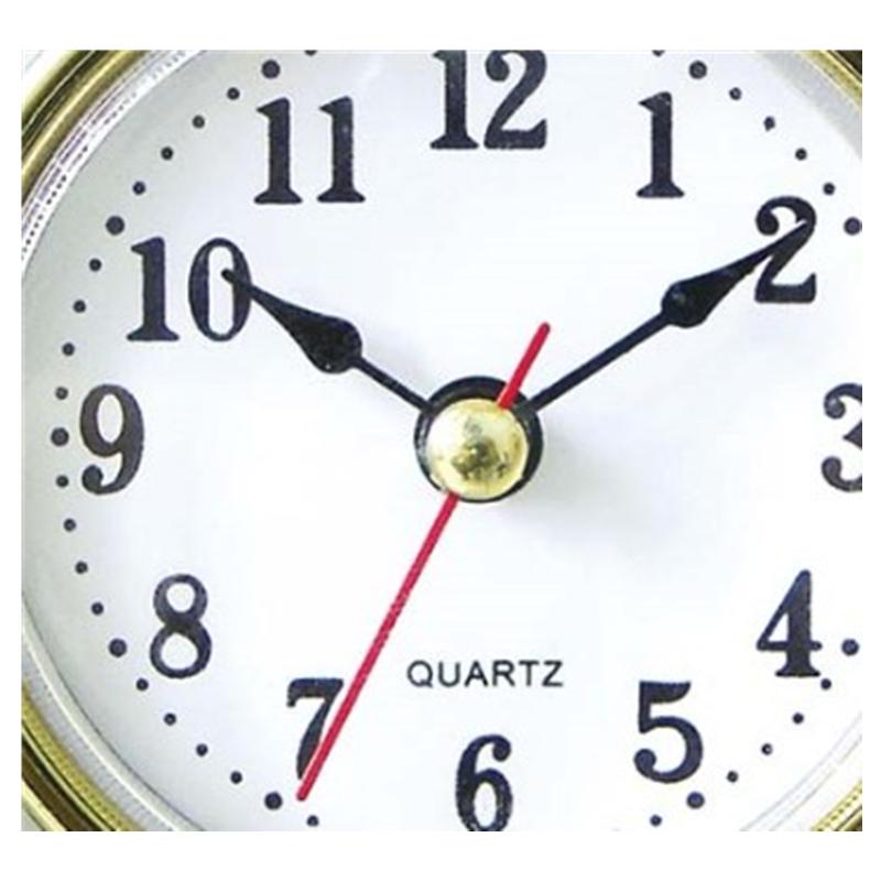 1 set movement repair parts wall clock spindle gold hands