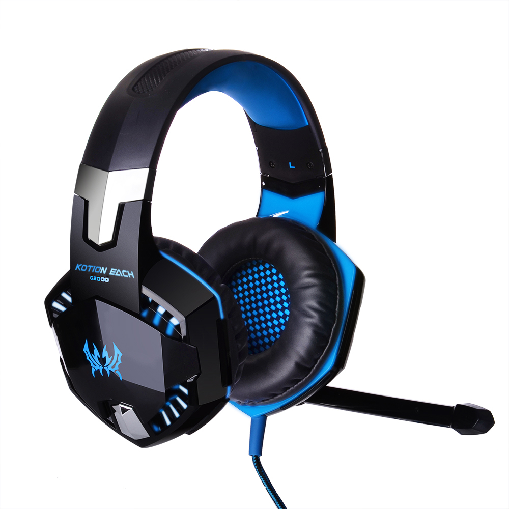 Kotion Each G2000 For Pc Game Gaming Headset With Mic Stereo Bass