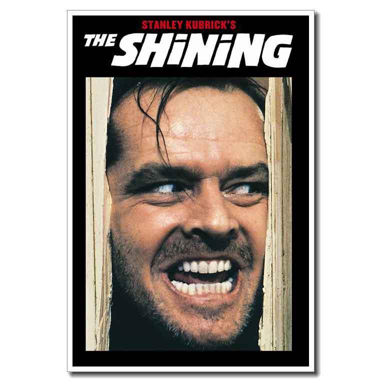T-465 The Shining Stanley Kubrick Classic Horror Movie Art Poster Silk 30 24x36