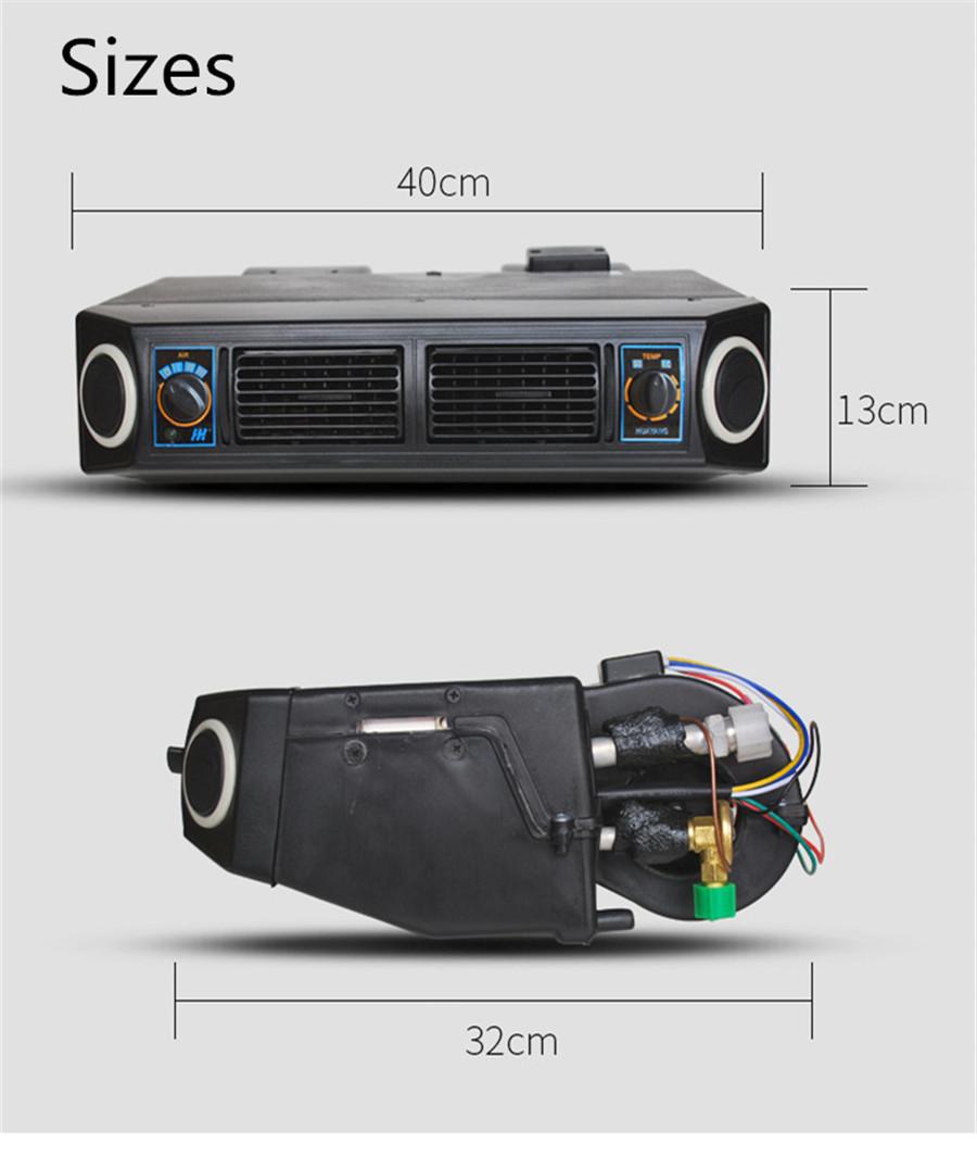 Universal 12v A C Ac Kit Underdash Evaporator Compressor Air 1978 82 Bmw Euro 630cs 635cs Fuse Box Diagram Conditioner 3 Speed