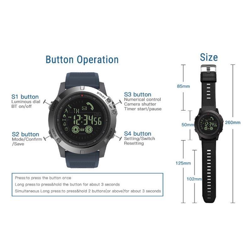 Neu 2019 T1 Takt Militr Super Tough Wasserdicht Smart Watch Ebay