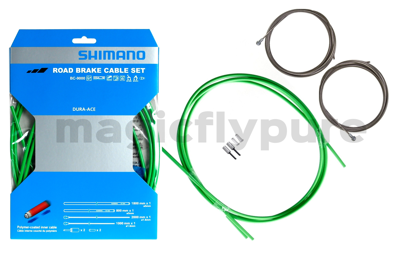 Shimano Dura-Ace BC-9000 SLR Polymer Coated Brake Inner Cable Outer Casing Set