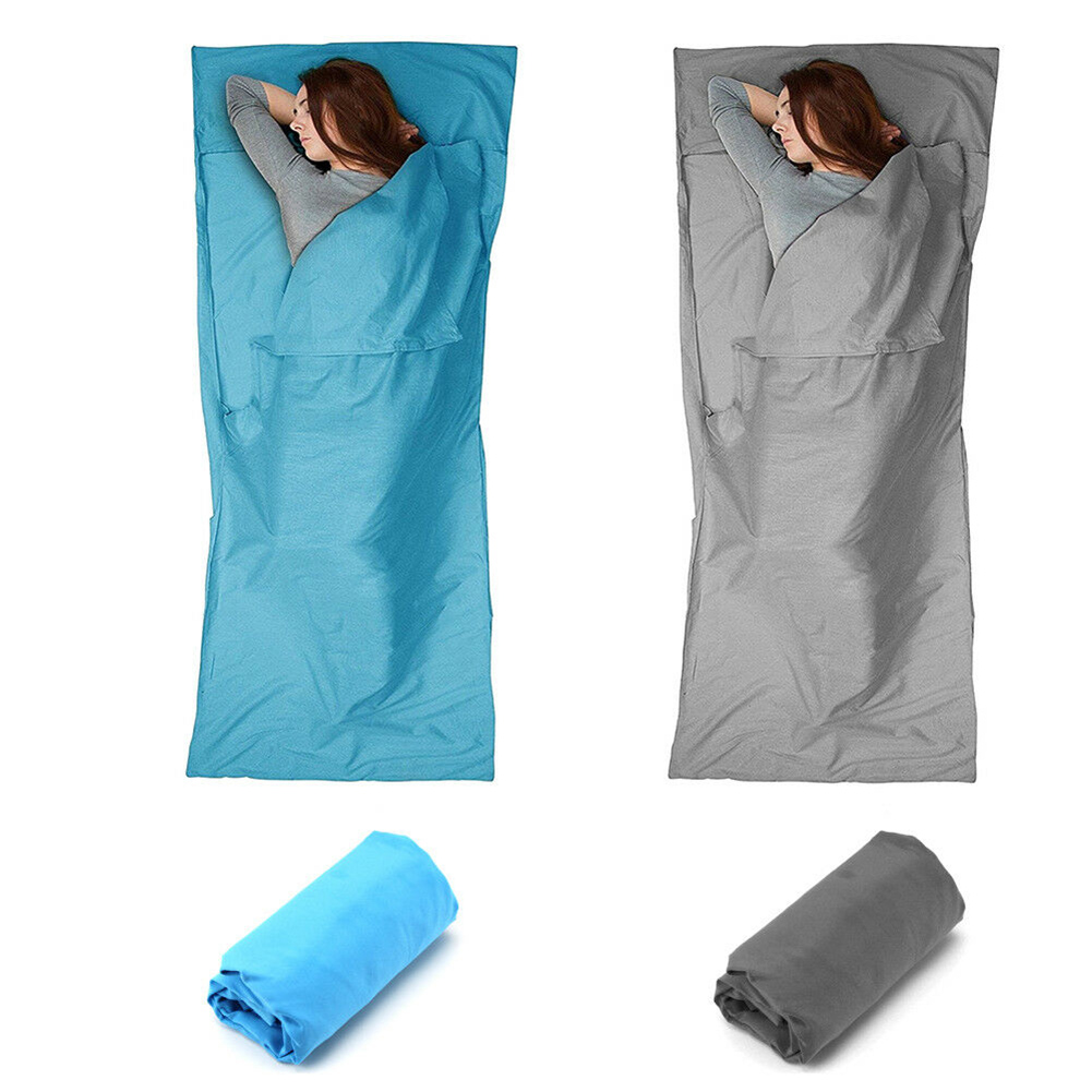 Single Camping Sleeping Bag Liner Adult Travel Hiking Hostel bag Lining Sheet