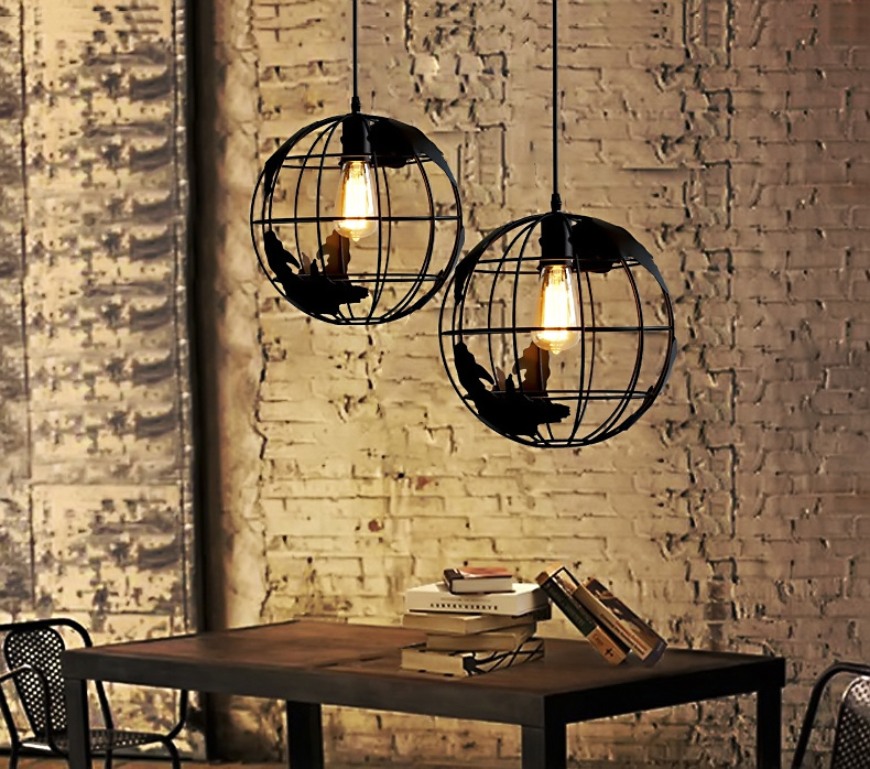 Modern earth shaped globe pendant lamp fixture shade ceiling light modern earth shaped globe pendant lamp fixture shade ceiling light chandelier ebay mozeypictures Images
