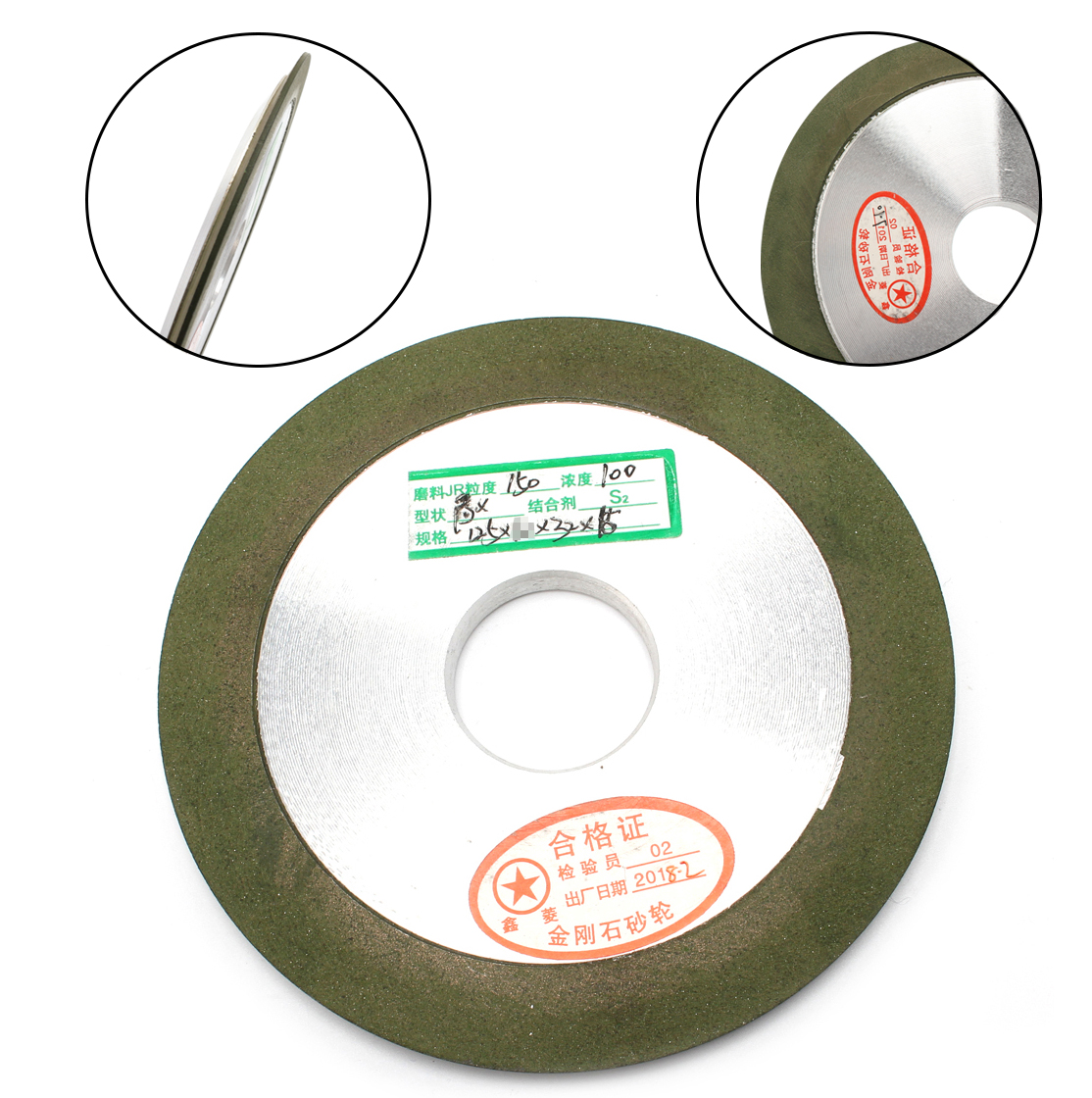 Free Shipping 125mm Diamond Grinding Wheel Grit 150 Cutter Tool Grinder