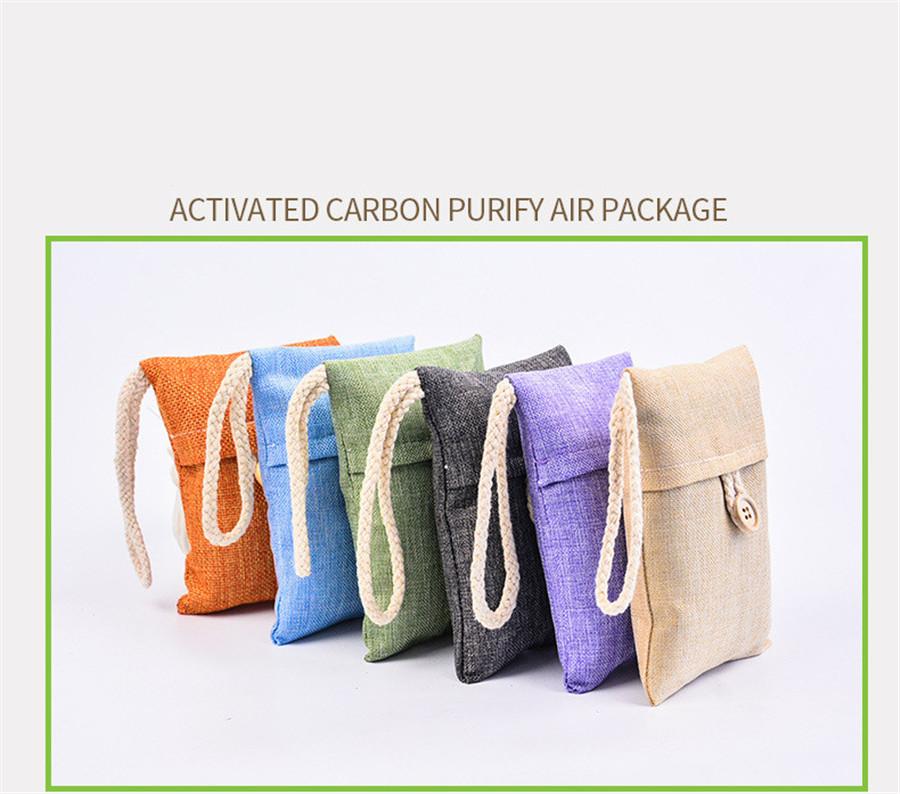 charcoal bags fresh bamboo air natural activated purifier deodorizer bag premium
