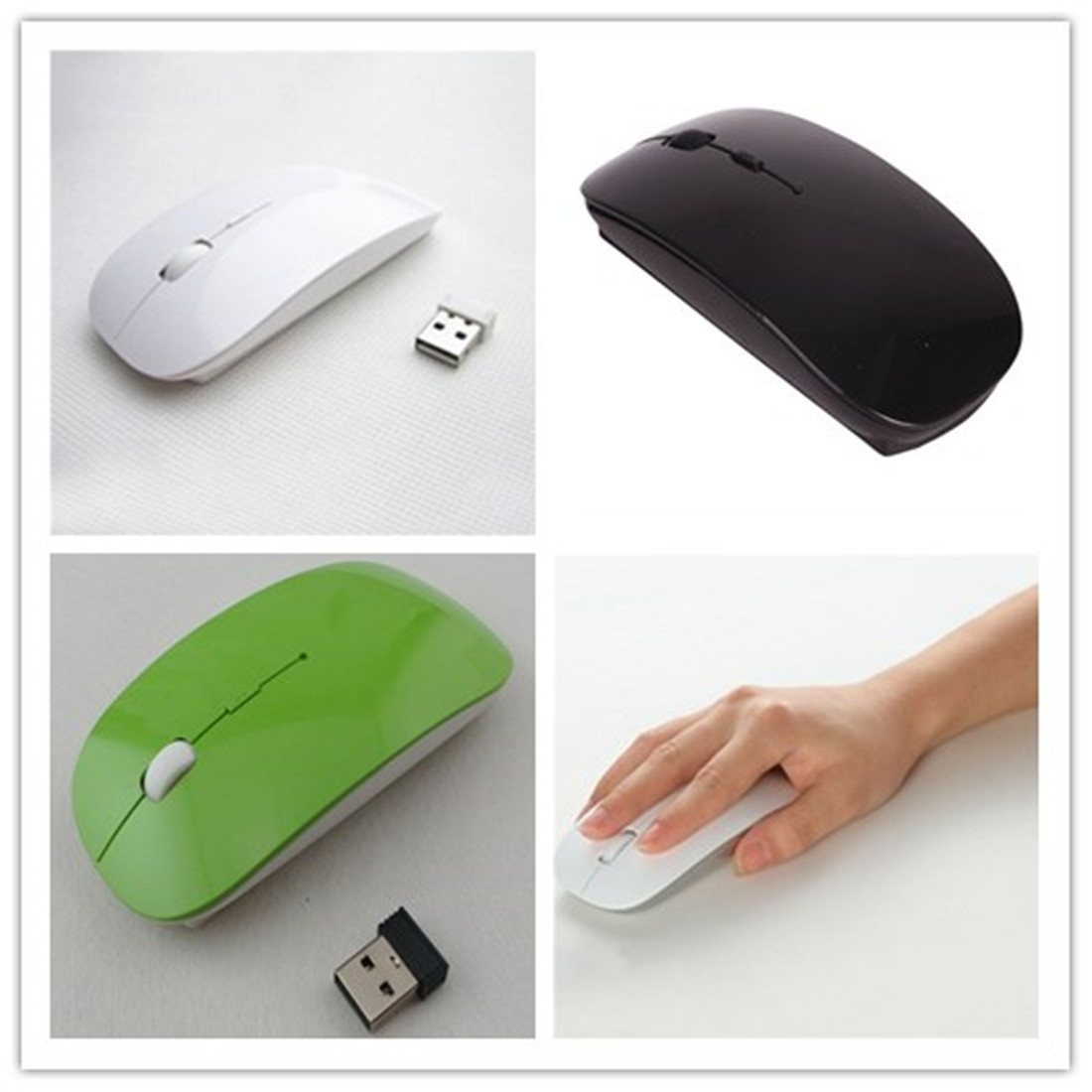 Slim, ergonomically-designed 2.4 GHz wireless mouse, ideal for home or office use 2. Compatible with most laptop and desktop computers via USB receiver ...