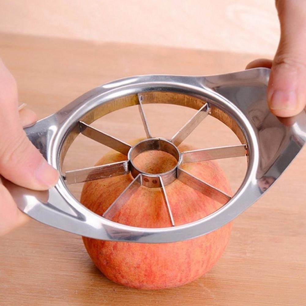Stainless Steel Apple Pear Fruit Easy Cut Slicer Cutter Corer Divider Peeler
