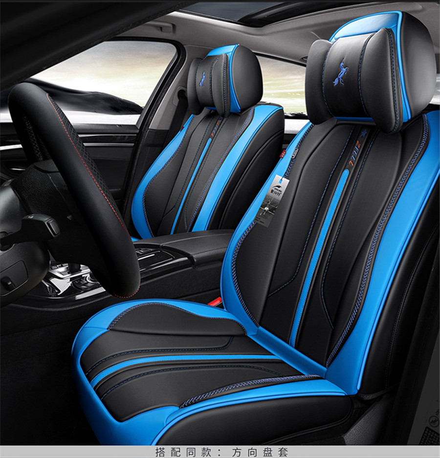 Fits Select Vehicles Car Truck Van for Car UV and Heat Reflector Black White Lion Heart Auto Seat Cover Set Intergrated High Back Buckets