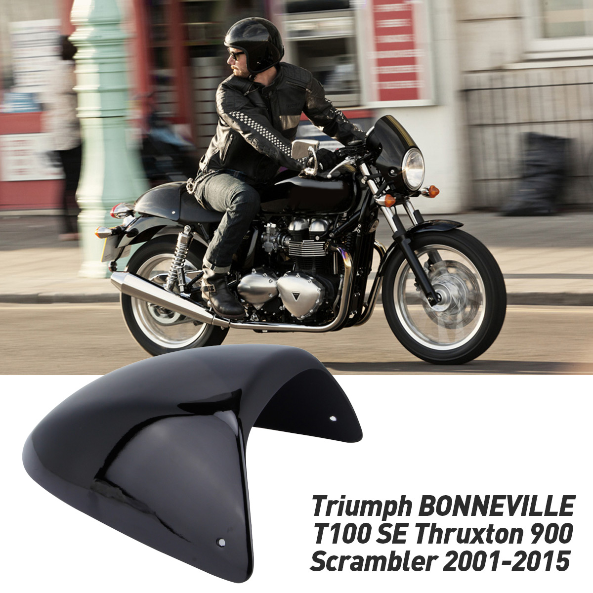 Triumph bonneville single seat cowl