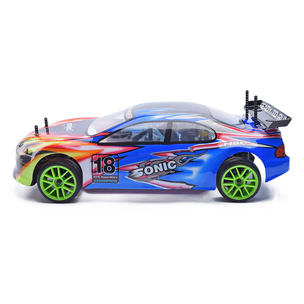 Hsp Nitro Rc Car On Road Racing High Speed Hobby