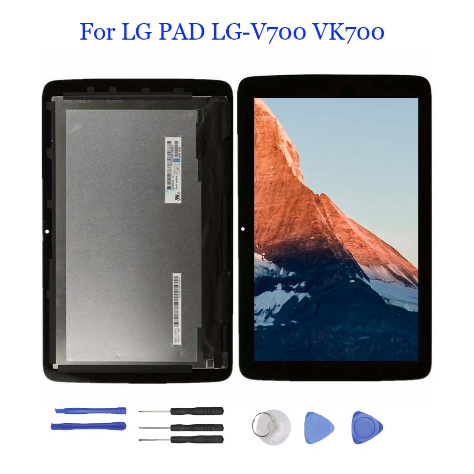LCD Display Touch Screen Digitizer Assembly For LG G Pad 10.1 V700 Verizon VK700
