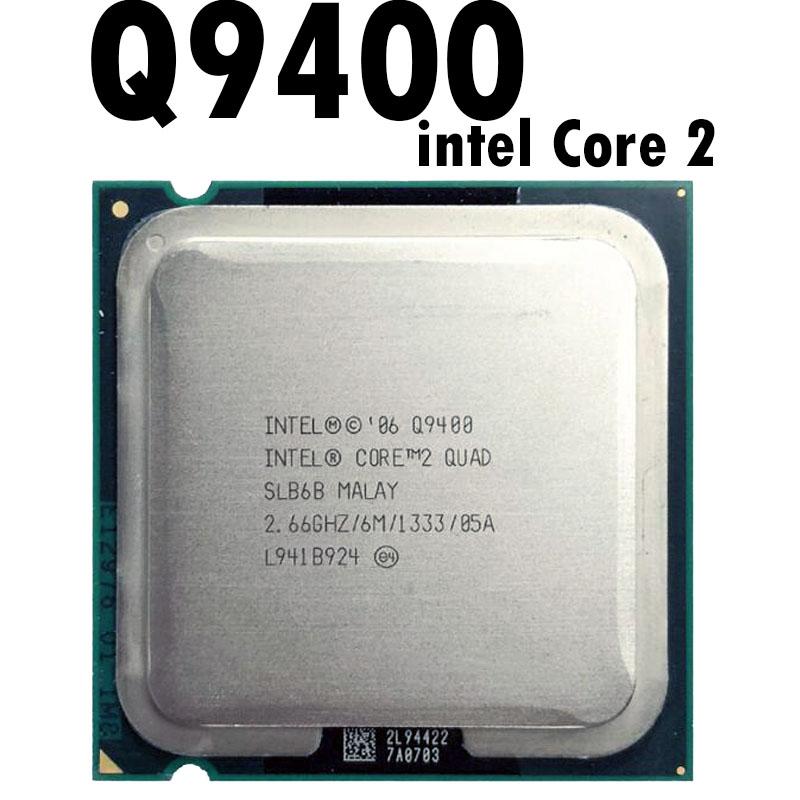 Intel Core 2 Quad Q9400 2 6 Ghz Procesador De Cuatro Núcleos De Cpu 6m 95w 1333 Lga 775 45nm Ebay