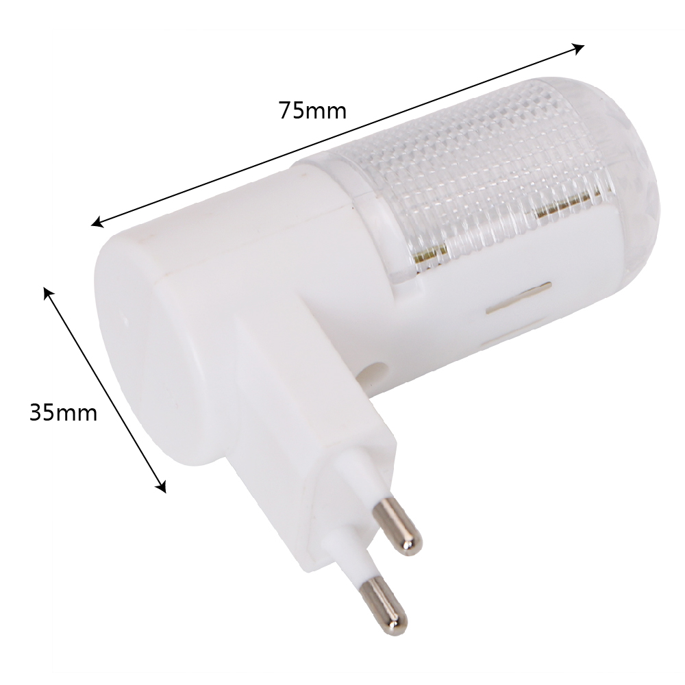 Wall Mounted Bedside Lamp With Plug : 1x LED Night Light Bedside Lamp EU Plug Wall Mounted 4 LEDs 3W Home Lighting eBay