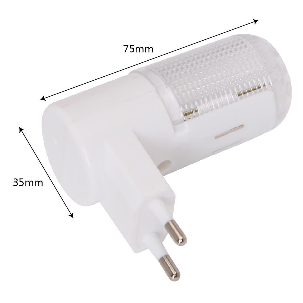 1x LED Night Light Bedside Lamp EU Plug Wall Mounted 4 LEDs 3W Home Lighting eBay
