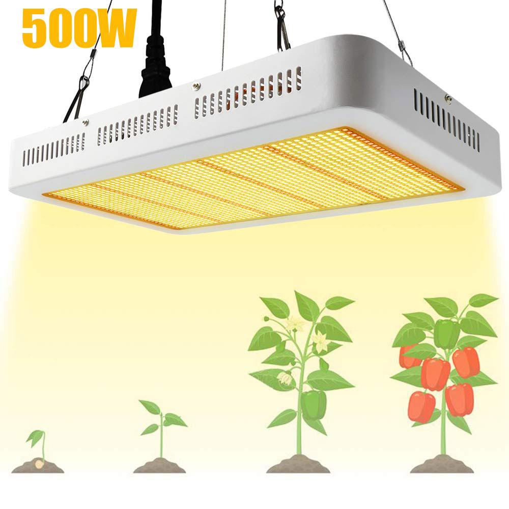 Dimmbar 200W LED Pflanzenlampe Pflanzenleuchte Voll Spektrum Grow Light Lamp Neu