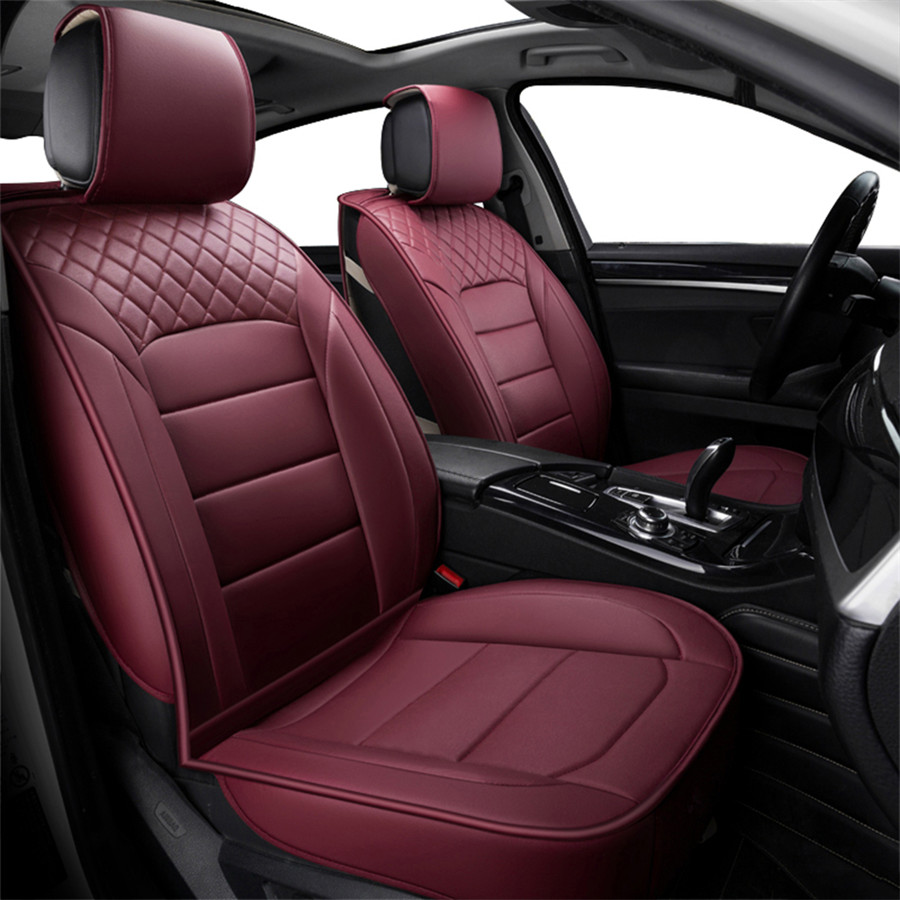 Pu Leather Car Seat Covers Sportage Cars Cushion Auto Accessories Car Styling Us Ebay