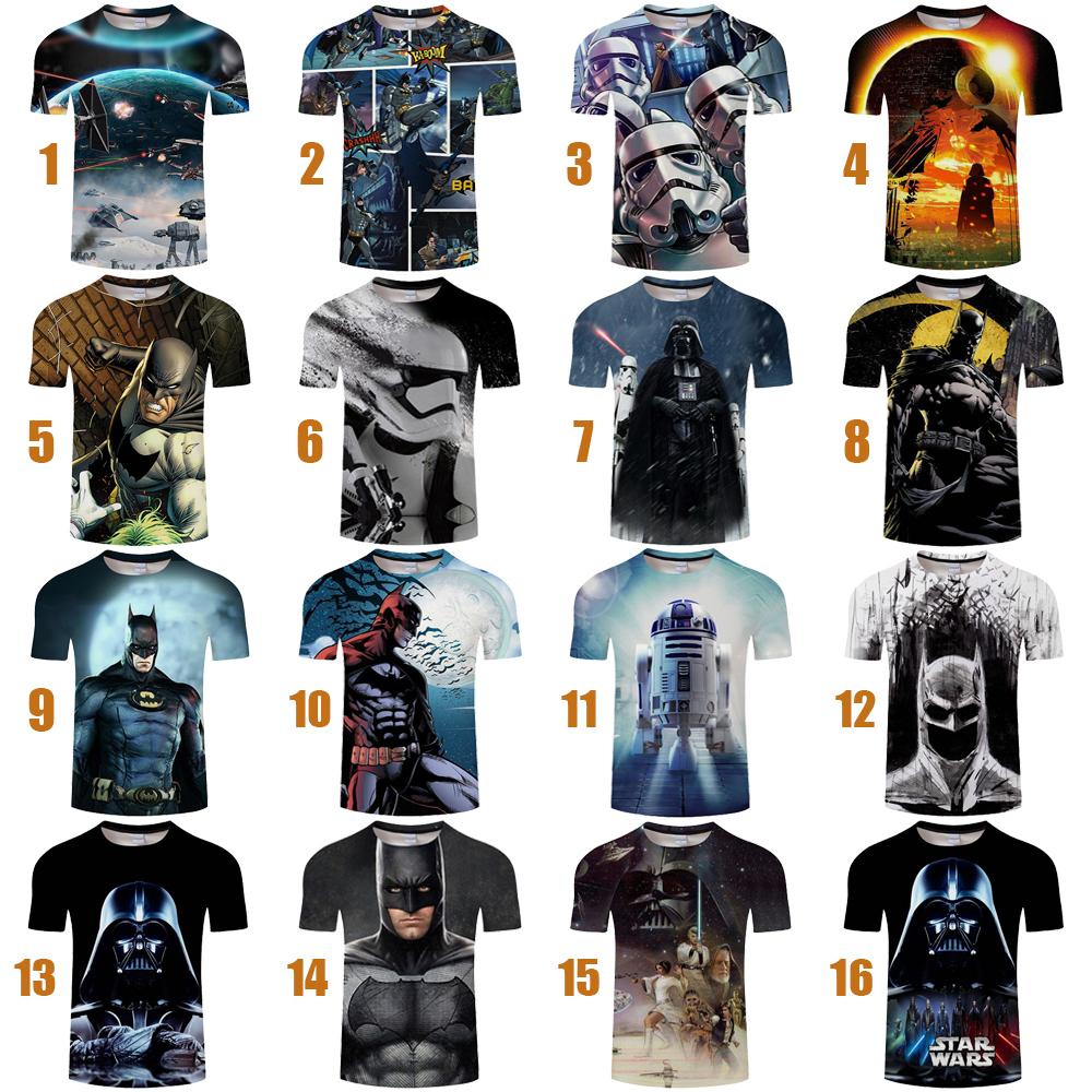 New Women Men Casual 3D T-Shirt Yoda Darth Star Wars Print Short Sleeve Tee Tops