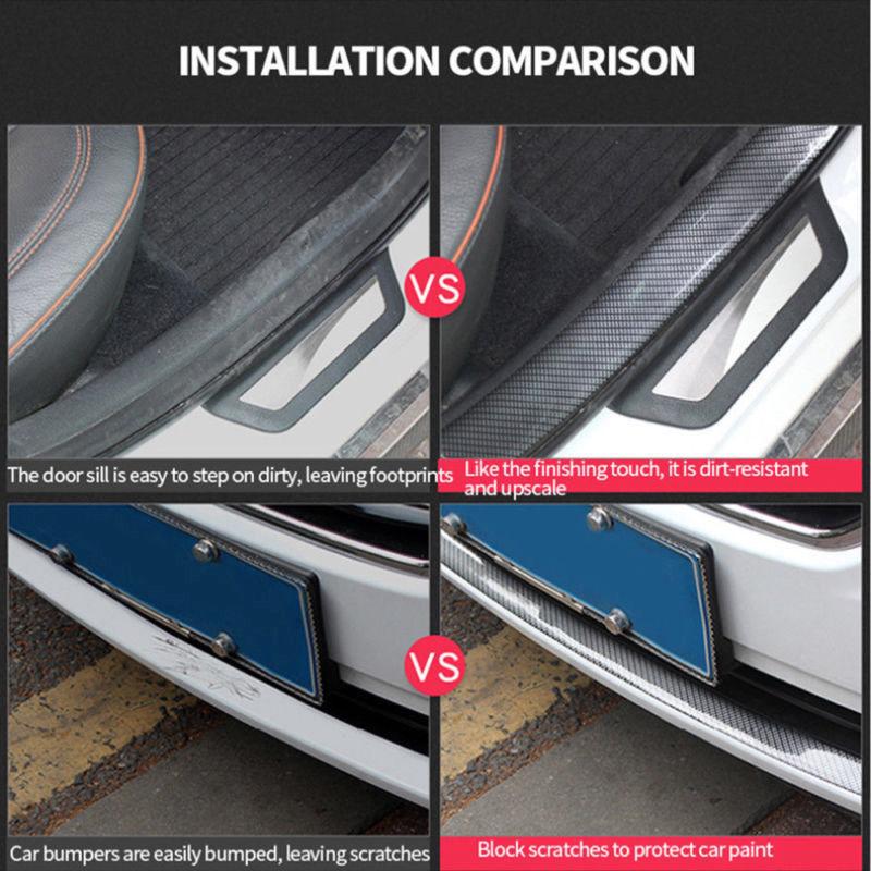5cm einstiegsleisten universal auto schutzleisten t r sill. Black Bedroom Furniture Sets. Home Design Ideas