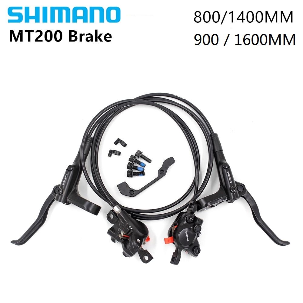 Shimano BR+BL-MT200 MTB Bicycle Hydraulic Disc Set Brake Front /& Rear Black
