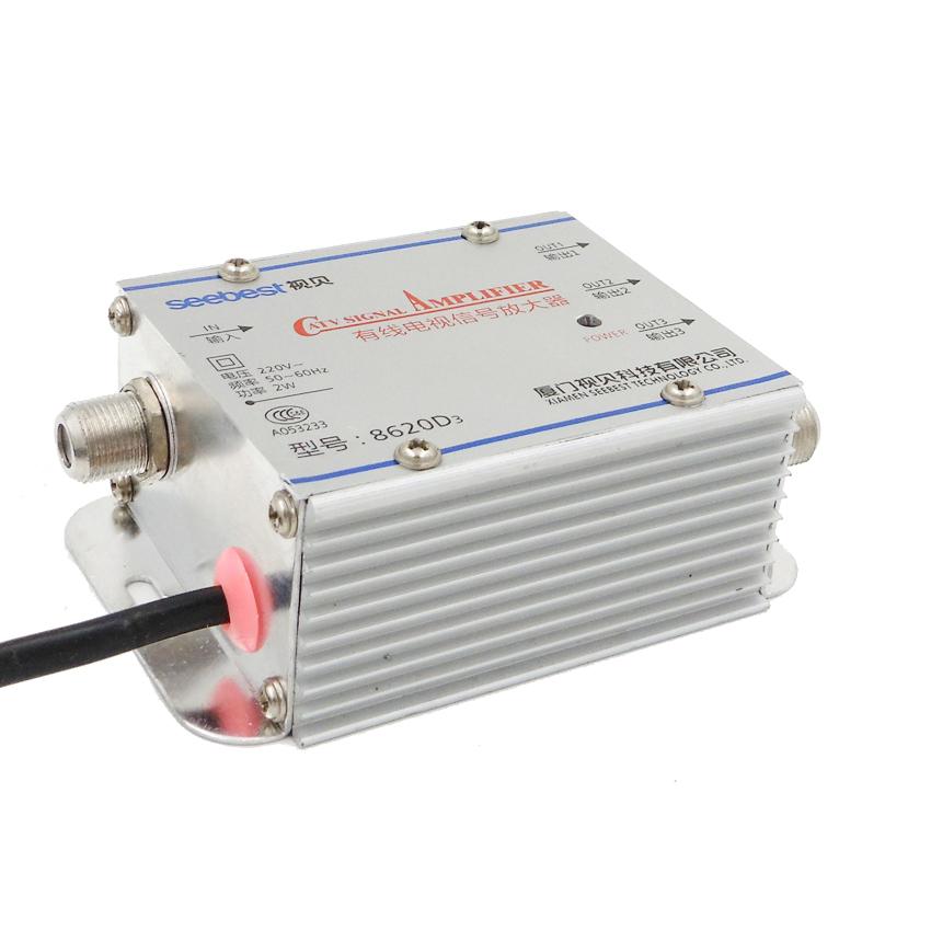 Tv Signal Amplifier : Splitter db signal amplifier hdtv in out catv new